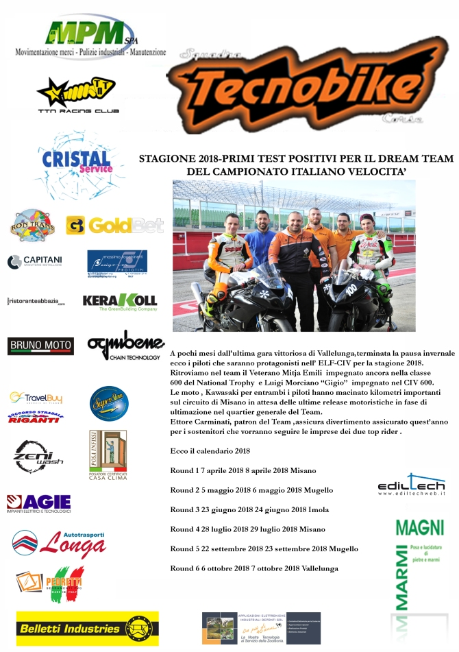 PRESSRELEASETECNOBIKE2018pretestmisano copy